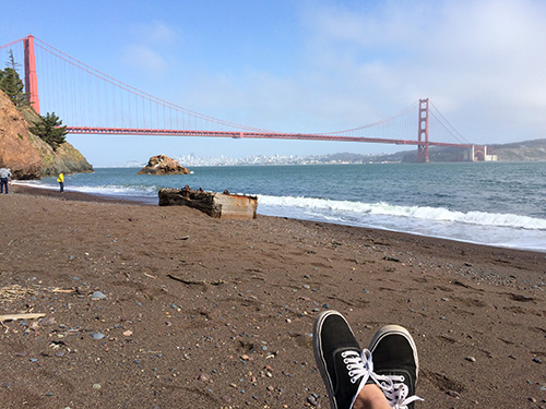 Moments at Kirby Beach in San Francisco, California